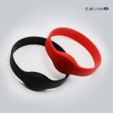 Bracelet en gros fait sur commande de claque de silicones avec l'impression