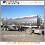 Caminhão de reboque de aço de alumínio do combustível de 4 compartimentos para Médio Oriente