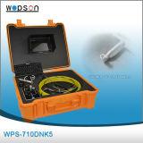 Appareil-photo imperméable à l'eau d'inspection de tuyauterie d'excellente qualité, système d'inspection de pipe avec la résolution