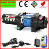 4500lbs Torno eléctrico automático con cuerda sintética