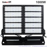 140lm/W Marcação RoHS 100-277V a 347 V 480V PI66 25 40 grau de iluminação exterior 1000W luz LED de alta potência