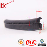 Metal Inserted를 가진 비바람에 견디는 Car Window Rubber Sealing Strip
