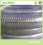 Волокна из ПВХ и стальная проволока усиленные шланг