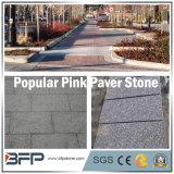 Камень популярного китайского розового гранита вымощая для напольной & внешней области