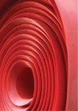 Strato di gomma del lattice rosso, strato della gomma naturale con concentrazione ad alta resistenza