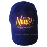 Alta calidad LED gorra de béisbol de algodón con luces de fibra óptica
