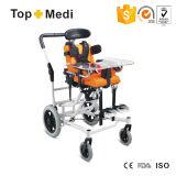طبّيّ صحة منتوجات ألومنيوم يطوي [سربرل بلسي] [كب] أطفال كرسيّ ذو عجلات