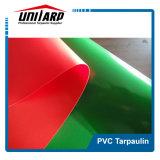 Tela incatramata laminata PVC bianca di 1000d 16*16 450GSM