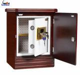 새로운 디자인 침대 곁 저장 보석 안전한 상자 나무로 되는 바디 호텔 안전 상자