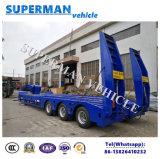 De Aanhangwagen van Lowbed Lowdeck van de Kraan van de Brug van China 100t voor Verkoop
