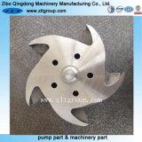 CNCの機械化を用いるステンレス鋼のDurcoポンプインペラー