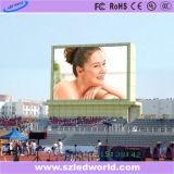 Parete esterna/dell'interno di luminosità LED dello schermo di visualizzazione alta video per la pubblicità (P6, P8, P10, P16)