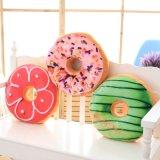 도매 신식 견면 벨벳 도넛 모양 반지 베개