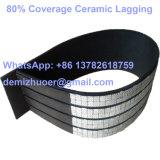 El retraso de la polea de cerámica con Cn-Bonding capa para el tambor del transportador
