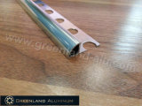 L'aluminium profile l'équilibre argenté lumineux d'angle de coin rond