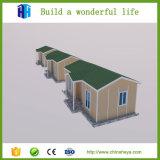Prefabricated WPC 작은 조립식 강철 프레임 현대 집 필리핀