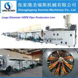 Ligne pipe d'extrusion de pipe de PE de HDPE faisant la machine