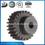 Engranaje cónico de acero de la forja 42CrMo4/4140/Scm440 del OEM con trabajar a máquina del torno del CNC