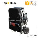 휴대용 경량 전력 휠체어를 접히는 Topmedi