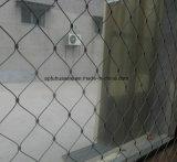 Трос из нержавеющей стали проволочной сетки для зоопарк