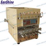 Máquina de enrolamento de bobina automática de seis eixos com fio Twister Ss966t