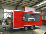 Reboque de /Mobile do carro do alimento das rodas com Quaiity elevado