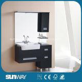 Armário de casa de banho de MDF de venda quente com pia Sw-M003