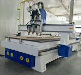 Pneumatic System CNC 1325 Multi Head, Wood Door Making CNC Router Cutting, CNC Router for Wood Kitchen Door Cabinet