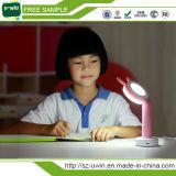 Lâmpada de mesa recarregável ambiental do diodo emissor de luz do USB de 100% para a HOME