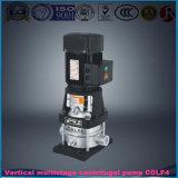 Pompe à eau à plusieurs étages de Chambre de pompe centrifuge à plusieurs étages verticale légère/acier inoxydable de Cdl