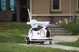 Baby-Schwingen-Auto mit Musik und essen Platte