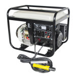 5kw電気開始ガソリン発電機を溶接する携帯用AC DC