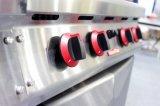 Chaîne de gaz autonome de luxe avec la plaque 4 chaude ronde électrique avec le Module (CRQ-94)