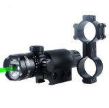 戦術的なハンチングピストルのための調節可能な緑レーザーのスコープレーザーの視力