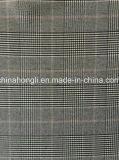 Poly Rayon verificar hilo tejido teñido