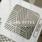 L'acier inoxydable Ket002 de la Chine 304 a repéré la feuille pour des matériaux de décoration