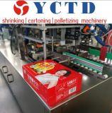 ネクタリンジュースのための飲料のびんのカートンの包む機械