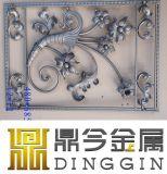 Painéis de flores de ferro forjado Decrative