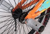 20インチの鋼鉄堅い単一の速度のフリースタイルBMXの自転車