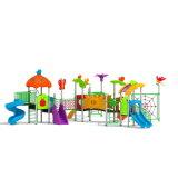 Parque Infantil exterior de plástico para crianças e crianças (JYG-15025)
