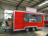 Remorque mobile d'aliments de préparation rapide de restauration de prix usine