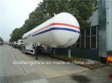 de 49.6m3 LPG del tanque semi del acoplado de gasolina del depósito acoplado semi