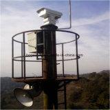 De thermische Openlucht Infrarode Camera van het Toezicht van de Veiligheid met ontdekt 4km