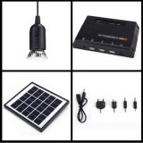 3 LED Solar Lampの小型4W Home Solar Panel Energy Power System Lighting Kit