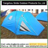 Barraca de acampamento feita sob encomenda de viagem resistente da cópia da água de 4 pessoas