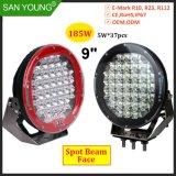 185W Super LED lumineux voyant des feux de travail Phare Feu de conduite LED 9pouce Offroad 4X4
