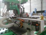 Máquina modelo pneumática do router do CNC da madeira do ATC de quatro cabeças/máquina de gravura