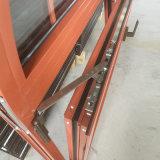 La vetratura doppia superiore incurvata ha temperato l'inclinazione e la girata di alluminio di vetro libere Windows con l'otturatore incorporato