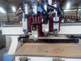 Ranurador del CNC con maquinaria del corte del grabado de la carpintería del vector del vacío