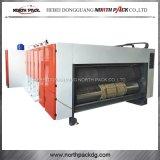 Машина печатание гофрированной бумага Multicolors прорезая и die-cutting
